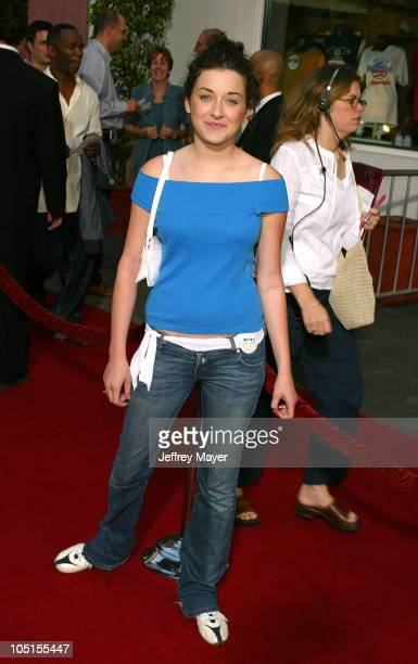 """Margo Harshman during """"American Wedding"""" Premiere in Universal City, California, United States."""
