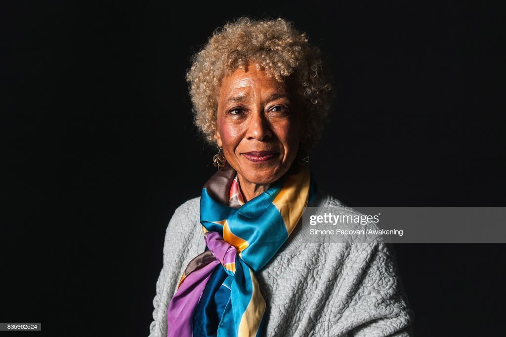Margo Jefferson attends a photocall during the Edinburgh International Book Festival on August 20, 2017 in Edinburgh, Scotland.