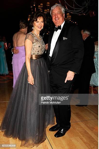 Margo Langenberg and Brian Stewart attend THE NEW YORK BOTANICAL GARDEN 2008 Conservatory Ball at The New York Botanical Garden on June 5 2008 in New...