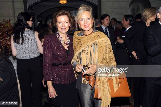 Margo Langenberg and Elke Gazzara attend 2010 ASPCA Humane Awards Luncheon Sponsored by Hartville Group at The Pierre Hotel on November 11 2010 in...