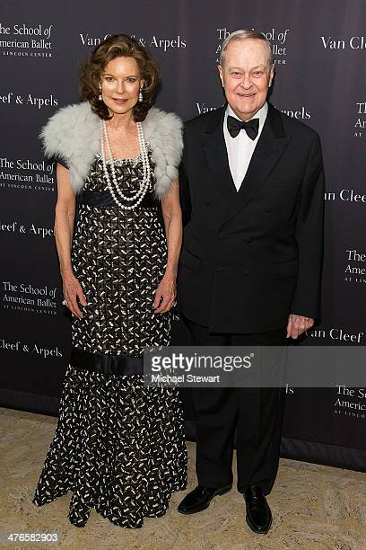 Margo Langenberg and Frederick Koch attend the School Of American Ballet's 2014 Winter Ball at David Koch Theatre at Lincoln Center on March 3 2014...