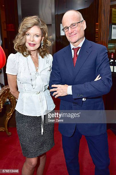 Margo Langenberg and Frederico Wasserman attend Bastille Day Party Hosted by Jean Shafiroff at Le Cirque on July 14 2016 in New York City