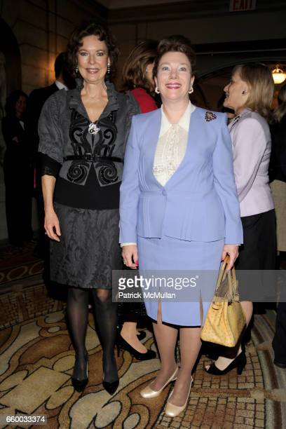 Margo Langenberg and Marilyn Freidland attend FOUNTAIN HOUSE Symposium and Luncheon at The Pierre Hotel on May 4 2009 in New York City