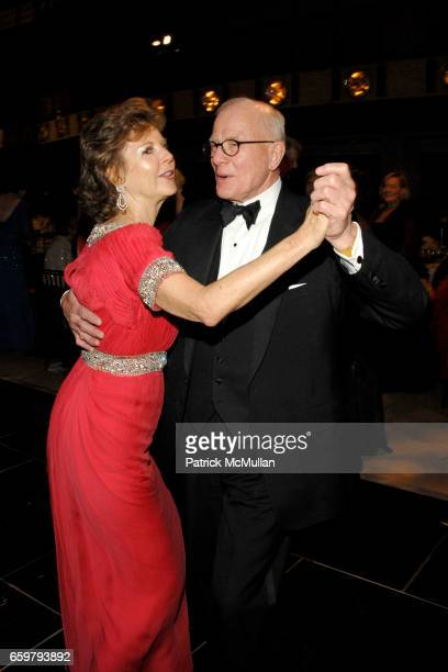 Margo Langenberg and Richard Kosman attend New York City Opera's Theater Debut Celebration at Lincoln Center on November 5 2009 in New York