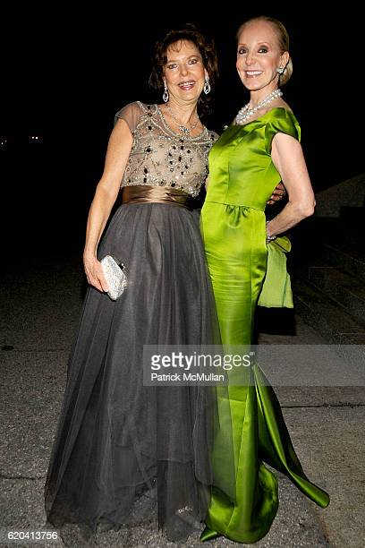 Margo Langenberg and Stephanie Krieger attend THE NEW YORK BOTANICAL GARDEN 2008 Conservatory Ball at The New York Botanical Garden on June 5 2008 in...