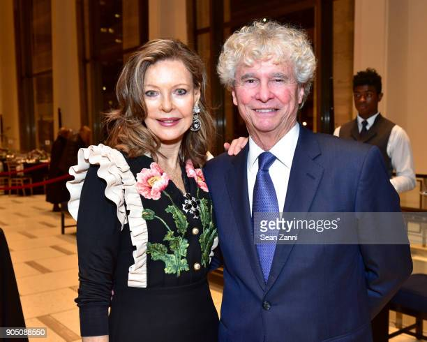 Margo Langenberg and Tony Bechara attend Friends of Budapest Festival Orchestra Gala 2018 at David Geffen Hall on January 14 2018 in New York City