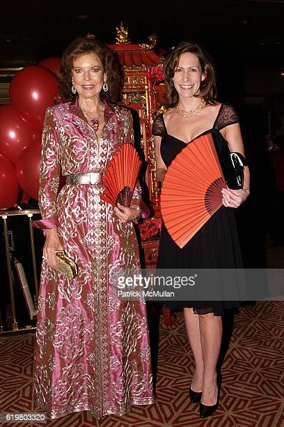 Margo Langenberg and Wendy Furrer attend GEOFFREY BRADFIELD'S Opium Party for RORIC TOBIN'S Birthday at Doubles Club on October 23 2008 in New York...
