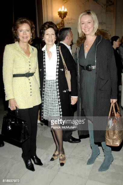 Margo Langenberg Coco Kopelman and Jacqueline Parker Togut attend CITY HARVEST'S Sixth Annual On Your Plate Luncheon at Metropolitan Club on May 11th...