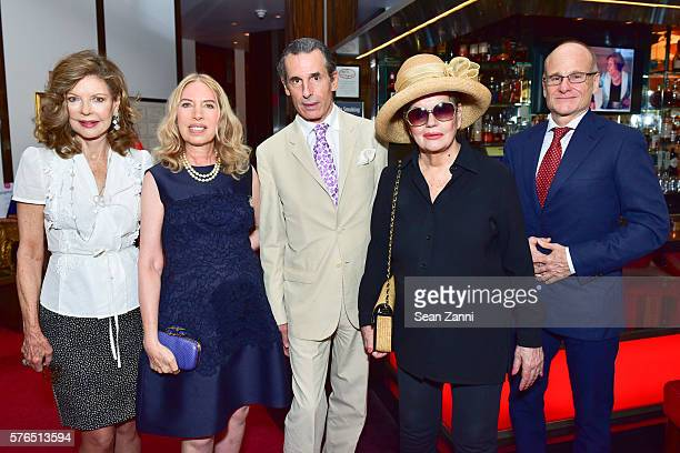 Margo Langenberg Lauren Lawrence Roy Kean Ann Rapp and Frederico Wasserman attend Bastille Day Party Hosted by Jean Shafiroff at Le Cirque on July 14...