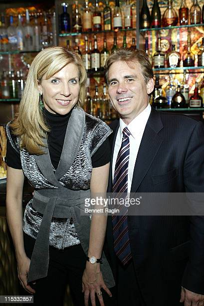 Margo MacNabb and Rob Rich during Launch of Arctic Rose Outerwear Created by Celebrity Stylist and Designer Dalila Anderson at AZZA in New York City...