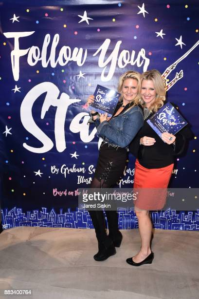 Margo Manhattan and Cheryl Casone attend Follow Your Star Book Launch at 800 B Fifth Avenue on November 30 2017 in New York City