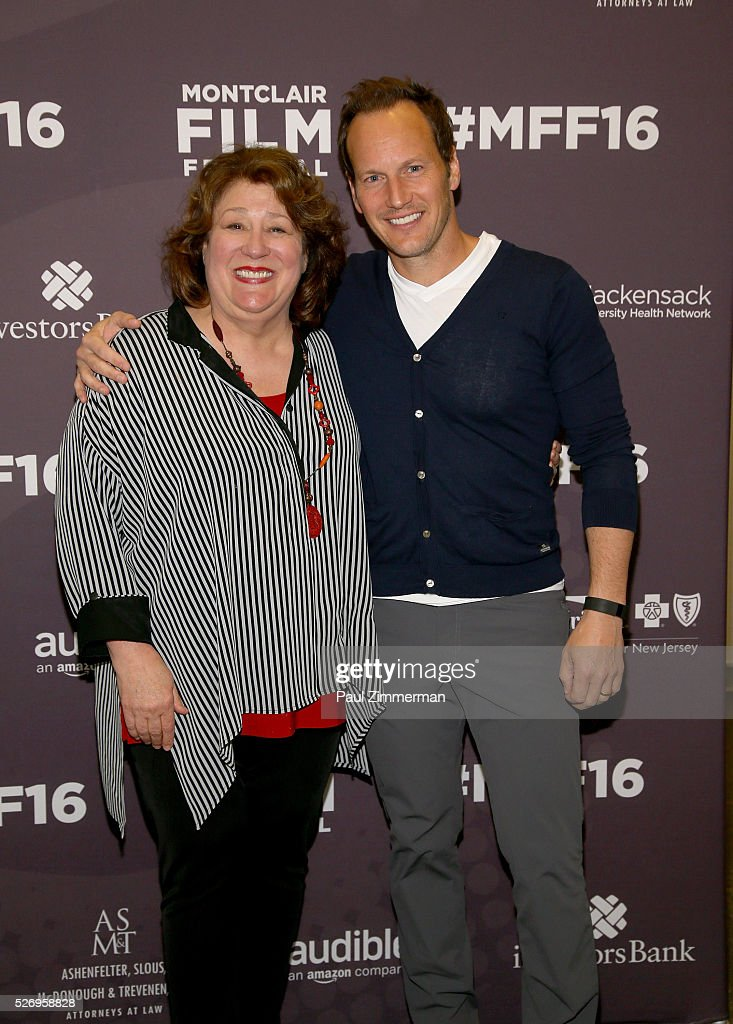 Margo Martindale (L) and Patrick Wilson attend the Montclair Film Festival 2016 - Day 3 Conversations at Montclair Kimberly Academy on May 1, 2016 in Montclair, New Jersey.