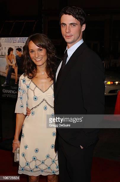 Margo Molanari and Matthew Goode during 'Chasing Liberty' Premiere at Grauman's Chinese Theatre in Hollywood California United States