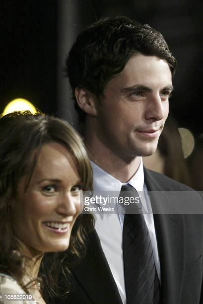Margo Molanari and Matthew Goode during 'Chasing Liberty' World Premiere at Grauman's Chinese Theater in Hollywood California United States