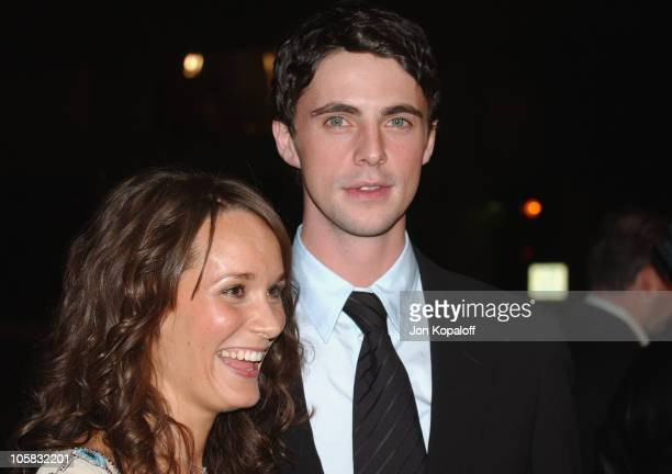 Margo Molanari and Matthew Goode during Chasing Liberty World Premiere at Grauman's Chinese Theater in Hollywood California United States