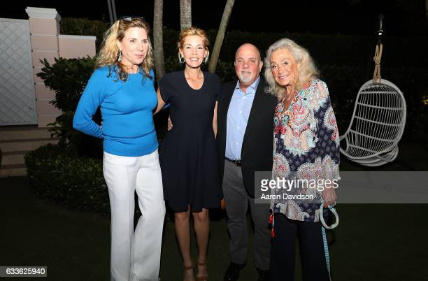 Margo Nederlander Alexis Joel Billy Joel and Terry Allen Kramer attend ASPCA Palm Beach Cocktails and Conversation hosted by Arriana and Dixon...