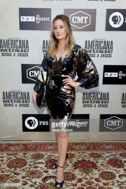 Margo Price attends the 2018 Americana Music Honors and Awards at Ryman Auditorium on September 12 2018 in Nashville Tennessee
