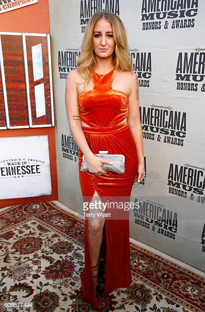 Margo Price attends the Americana Honors Awards 2016 at Ryman Auditorium on September 21 2016 in Nashville Tennessee