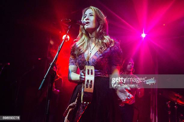 Margo Price performs at Scala on September 1 2016 in London England