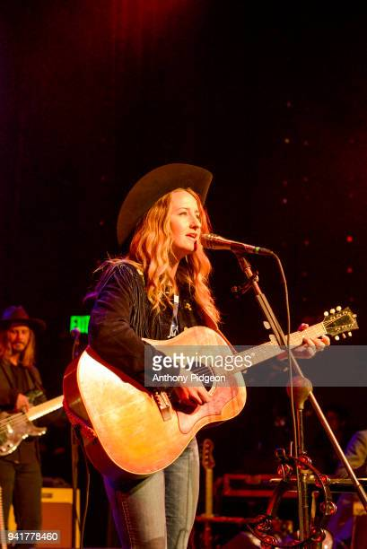 Margo Price performs on stage at Revolution Hall in Portland Oregon USA on 26th February 2018