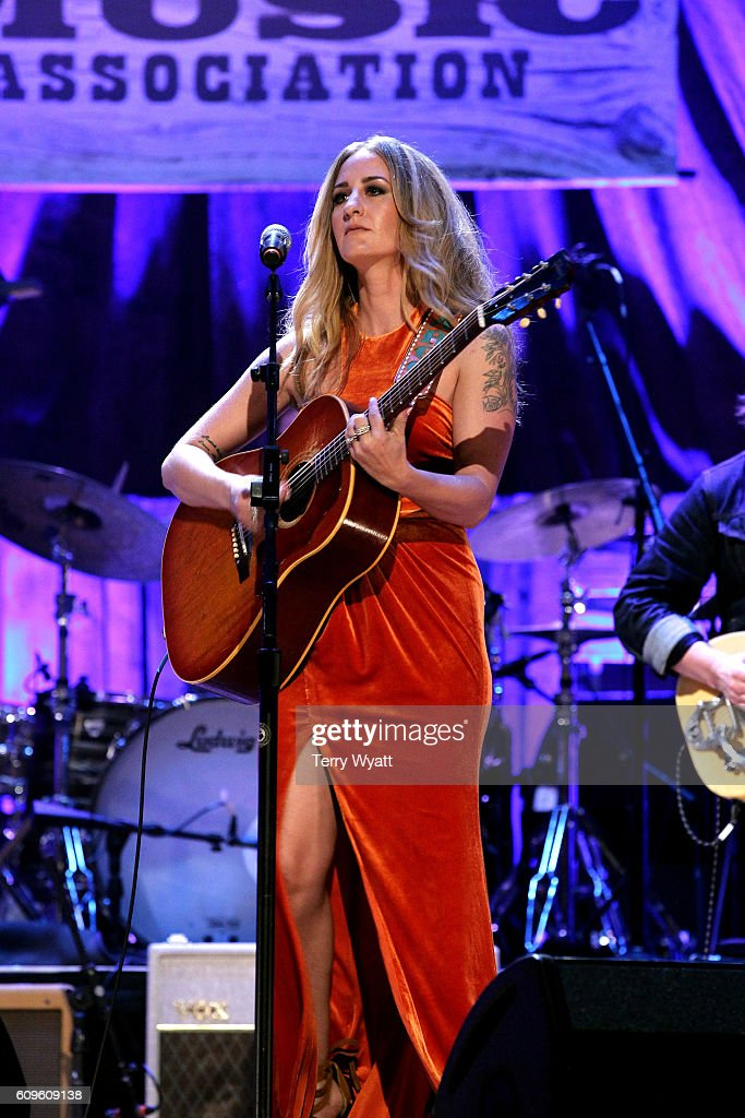 Margo Price performs onstage at the Americana Honors & Awards 2016 at Ryman Auditorium on September 21, 2016 in Nashville, Tennessee. at Ryman Auditorium on September 21, 2016 in Nashville, Tennessee.