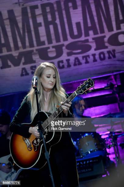 Margo Price performs onstage during the 2017 Americana Music Association Honors Awards on September 13 2017 in Nashville Tennessee