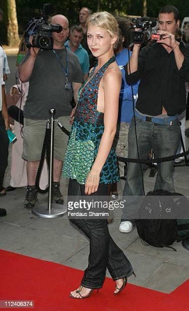 Margo Stilley during Brasil Brasileiro London Premiere at Sadler's Wells Theatre in London Great Britain