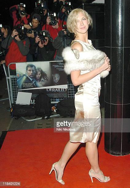 "Margo Stilley during ""Derailed"" London Premiere - Arrivals at Curzon Mayfair in London, Great Britain."