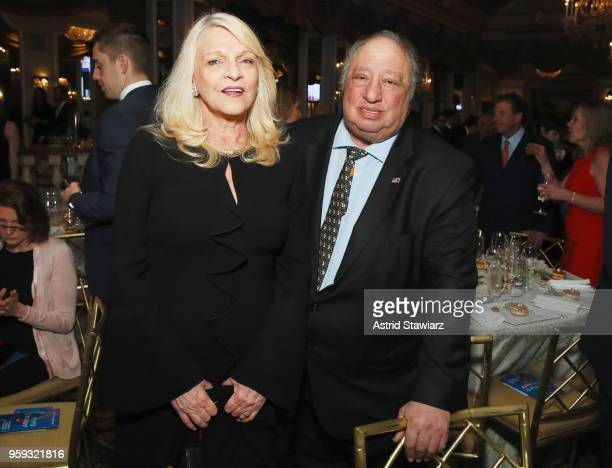 Margo Vonderstaar Catsimatidis and John Catsimatidis attend the National Eating Disorders Association Annual Gala 2018 at The Pierre Hotel on May 16...