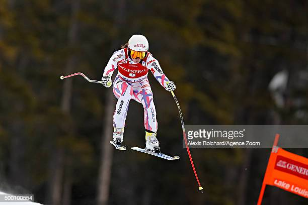 Margot Bailet of France competes during the Audi FIS Alpine Ski World Cup Women's Downhill on December 05 2015 in Lake Louise Canada