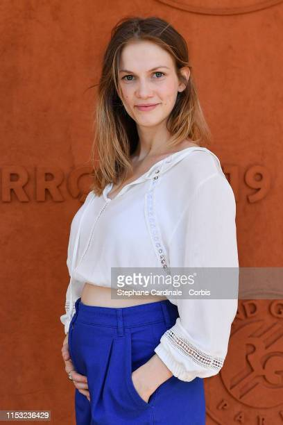 Margot Bancilhon attends the 2019 French Tennis Open Day Eight at Roland Garros on June 02 2019 in Paris France