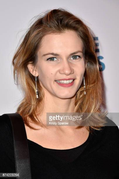 Margot Bancilhon attends the 'The Battle Of The Sexes' Paris Premiere at Publicis Champs Elysees on November 14 2017 in Paris France