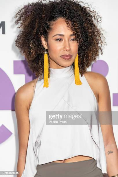 Margot Bingham attends the New York special screening of the Netflix film 'Set It Up' at AMC Loews Lincoln Square.