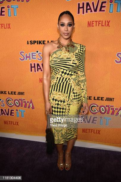 Margot Bingham attends the She's Gotta Have It Season 2 Premiere at Alamo Drafthouse on May 23 2019 in Brooklyn New York