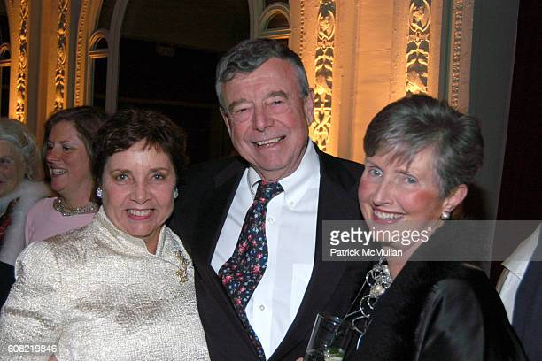 Margot Bogert Robert Riggs and Wendy Riggs attend CURTAIN UP Celebrating SARAH LAWRENCE COLLEGE Retiring President MICHELE MYERS at The Hudson...