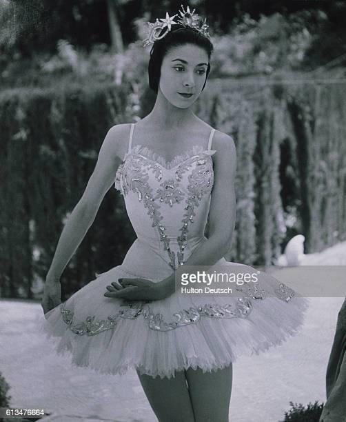 Margot Fonteyn in 'Sleeping Beauty' Granada Spain Fonteyn Margot English ballerina considered one of the finest technicians of this century She...