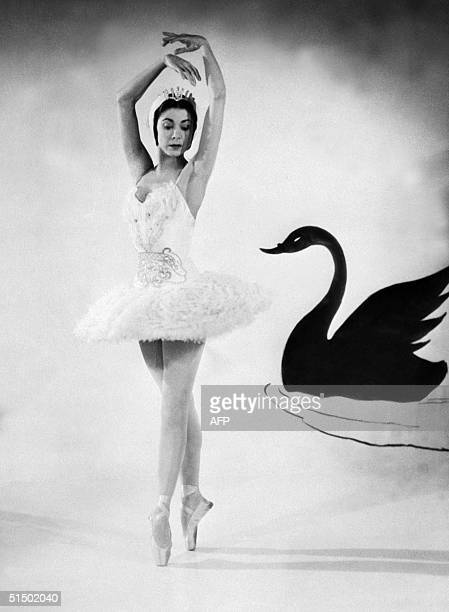 Margot Fonteyn performs in Tchaikovsky's ballet Swan Lake in 1955 in London Originally Margaret Hookham Margot Fonteyn joined the Sadler's Wells...