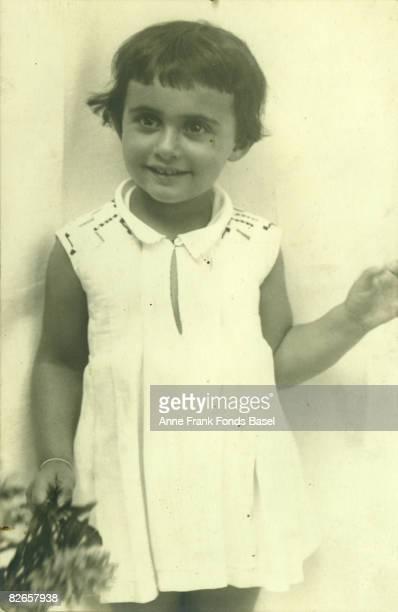 Margot Frank elder sister of Anne Frank 1929