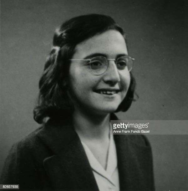 Margot Frank elder sister of Anne Frank May 1939