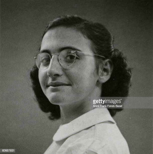 Margot Frank elder sister of Anne Frank May 1940