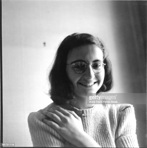 Margot Frank who lived with her sister Anne Frank in concealed rooms during the Nazi occupation of Amsterdam circa 1941