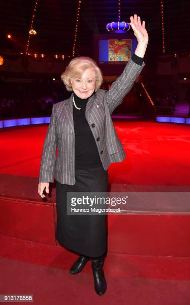 Margot Hellwig during Circus Krone celebrates premiere of 'Hommage' at Circus Krone on February 1 2018 in Munich Germany