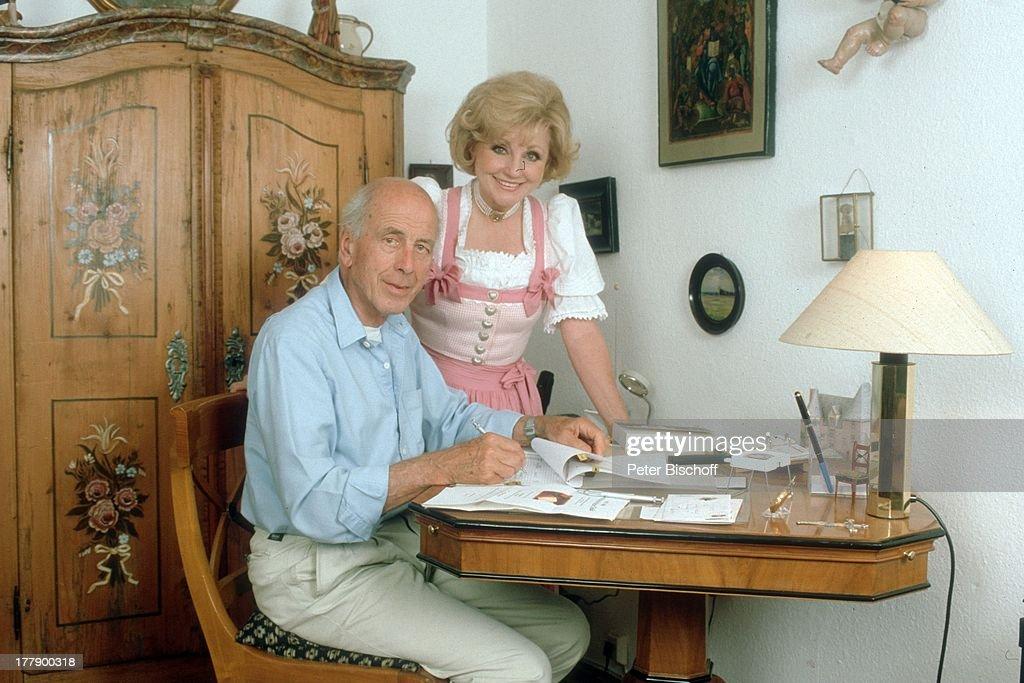 foto de Margot Hellwig Ehemann Arthur Lindermayr Homestory
