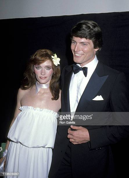 Margot Kidder and Christopher Reeve during Presidential Premiere of Superman in Washington DC December 10 1978 at JFK Center for the Performing Arts...