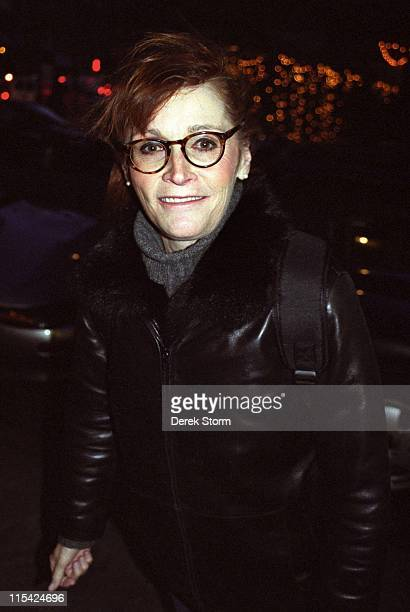 Margot Kidder during Margot Kidder Exits the Westside Theater After The Vagina Monologues December 15 2002 at Westside Theater in New York City New...