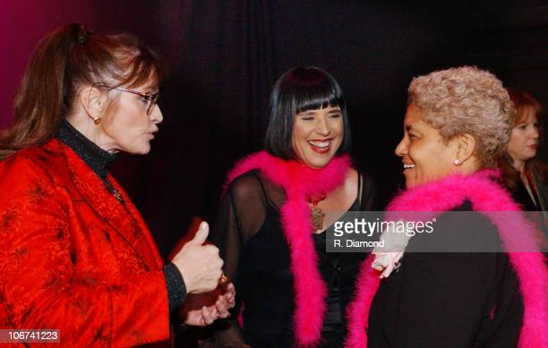 Margot Kidder Eve Ensler Atlanta Mayor Shirley Franklin