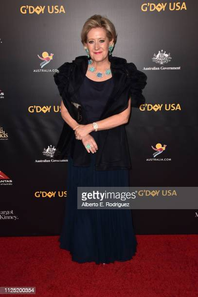Margot McKinney attends the 16th annual G'Day USA Los Angeles Gala at 3LABS on January 26 2019 in Culver City California