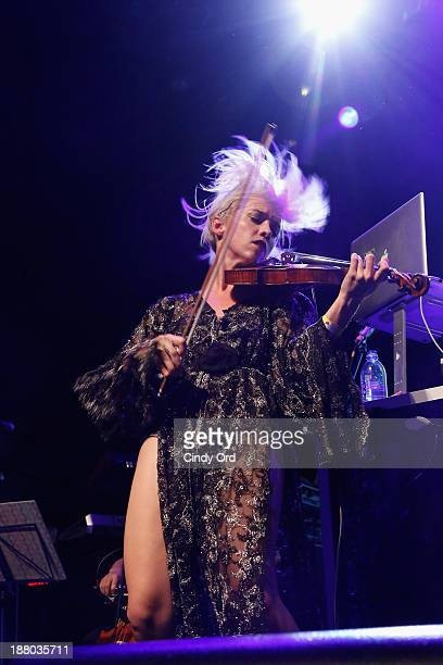 Margot of The Dolls performs onstage the 19th Annual Out100 Awards presented by Buick at Terminal 5 on November 14 2013 in New York City