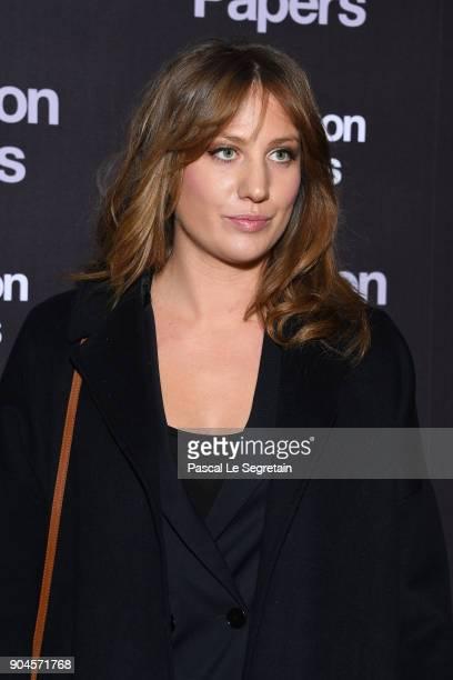 Margot Pelletier attends 'Pentagon Papers' Premiere at Cinema UGC Normandie on January 13 2018 in Paris France