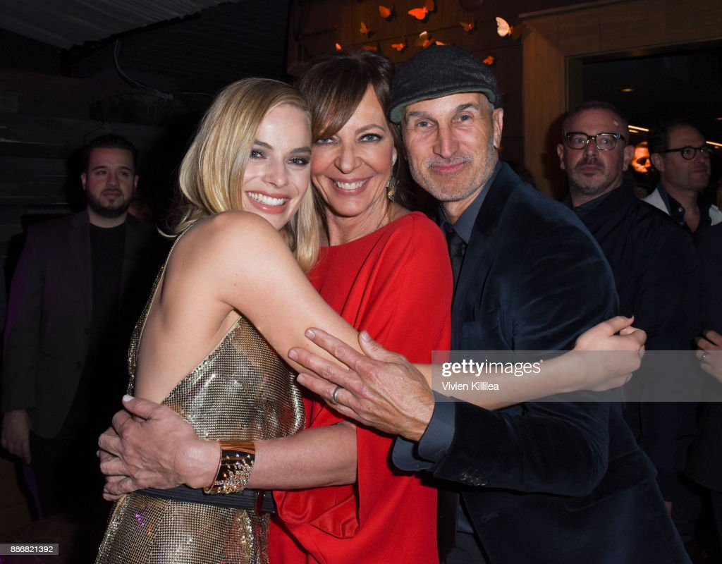 Margot Robbie, Allison Janney and Craig Gillespie attend NEON and 30WEST Present the Los Angeles Premiere of 'I, Tonya' Supported By Svedka on December 5, 2017 in Los Angeles, California.